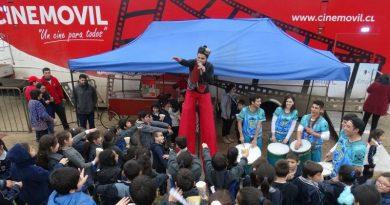 Cine Móvil reunió a 6 mil personas en la Región del Bío Bío y La Araucanía